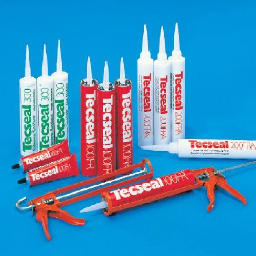 Tecseal 100FR High Quality Solvented Duct Sealant 380cc Cartridge Tube